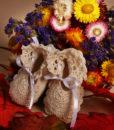 Botosei tricotati alb-ivoire-1