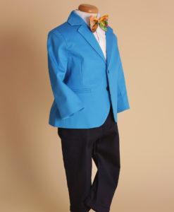 Costumas elegant albastru, Vladimir strumf ( 1-4 ani )-1