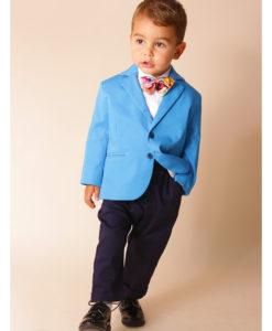 Costumas elegant albastru, Vladimir strumf ( 1-4 ani )-2